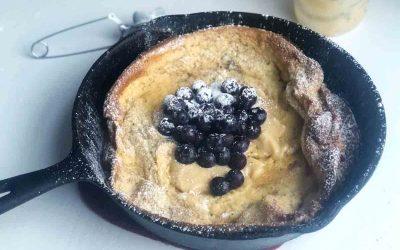 Einkorn Dutch Baby Pancake