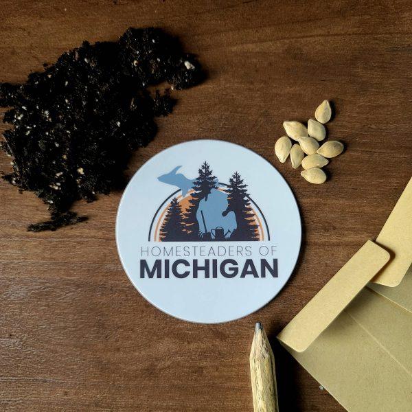 Homesteaders of Michigan Sticker