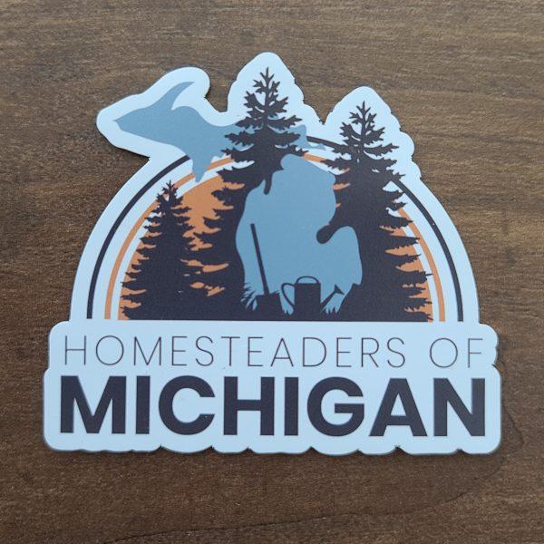 Homesteaders of Michigan Magnet